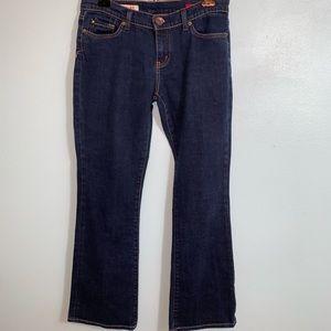 Express X2 Curvy Girl Bootcut Blue Jeans